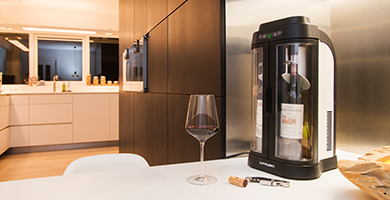 Wine Art - How to taste your wine in the perfect conditions and preserve open bottles while several days?