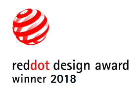 Red Dot design award winner 2018 für EuroCave Inspiration serie.